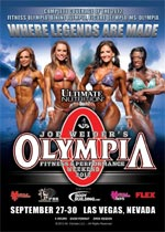 2010 Ms Olympia DVD