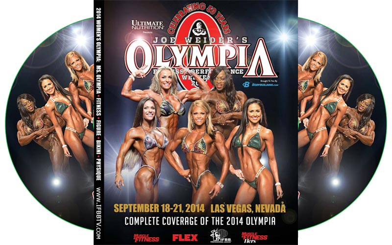 Ms Olympia 2014 DVD